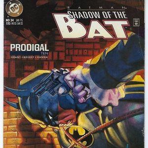 1995 No 34 DC Comics BATMAN SHADOW OF THE BAT Prod